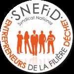 Logo du SNEFID Syndicat National des Entrepreneurs de la Filière Déchet